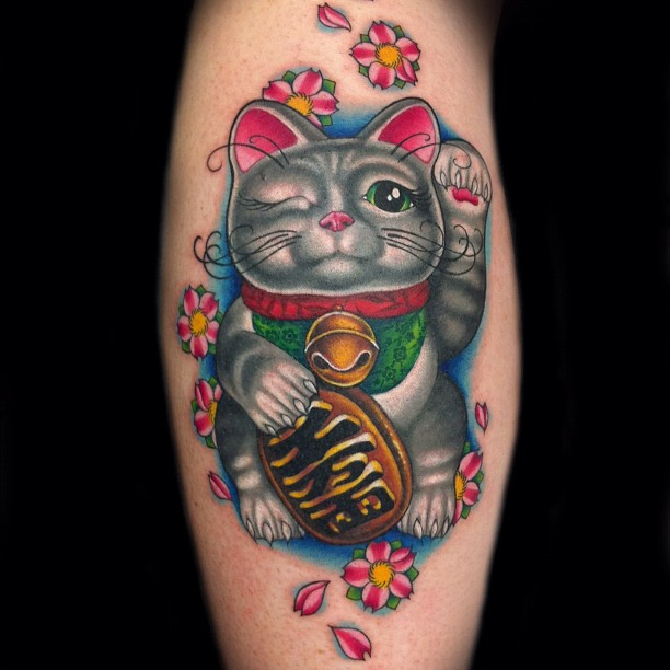 catsparella one eyed cat inspires tribute tattoo on ny ink. Black Bedroom Furniture Sets. Home Design Ideas