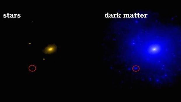 El secreto de la materia oscura en una pequeña galaxia