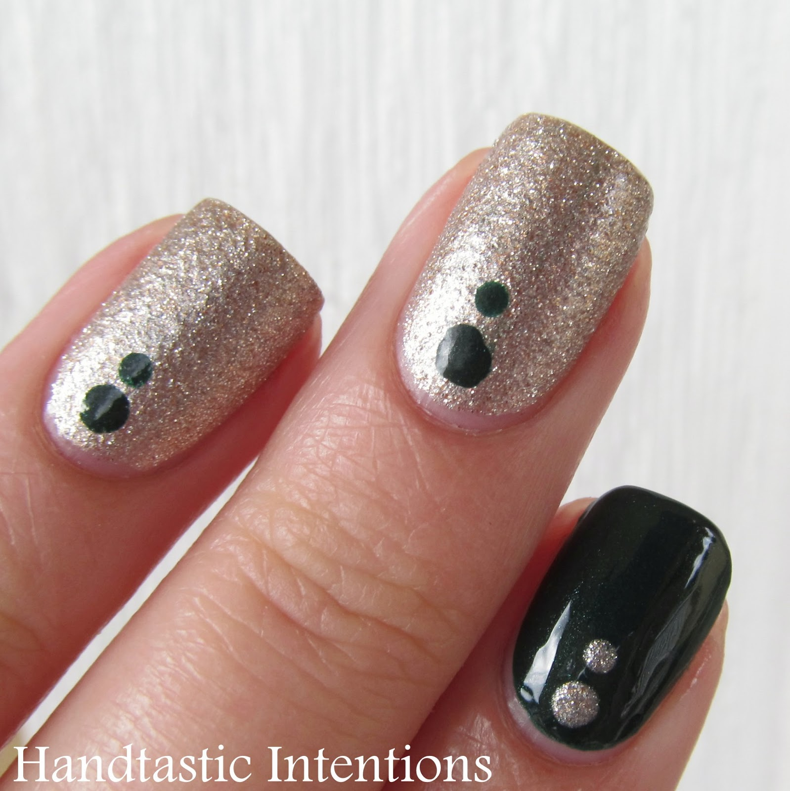 Handtastic Intentions: Nail Art: Emerald City