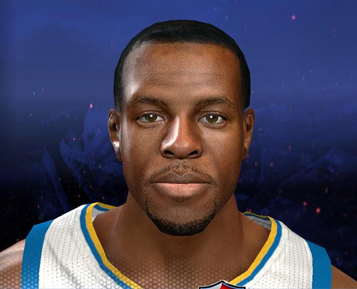 NBA 2K14 Andre Iguodala Realistic Face Mod