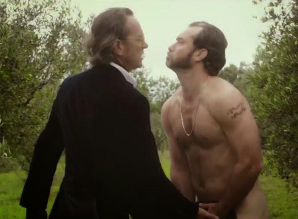 Jude Law desnudo