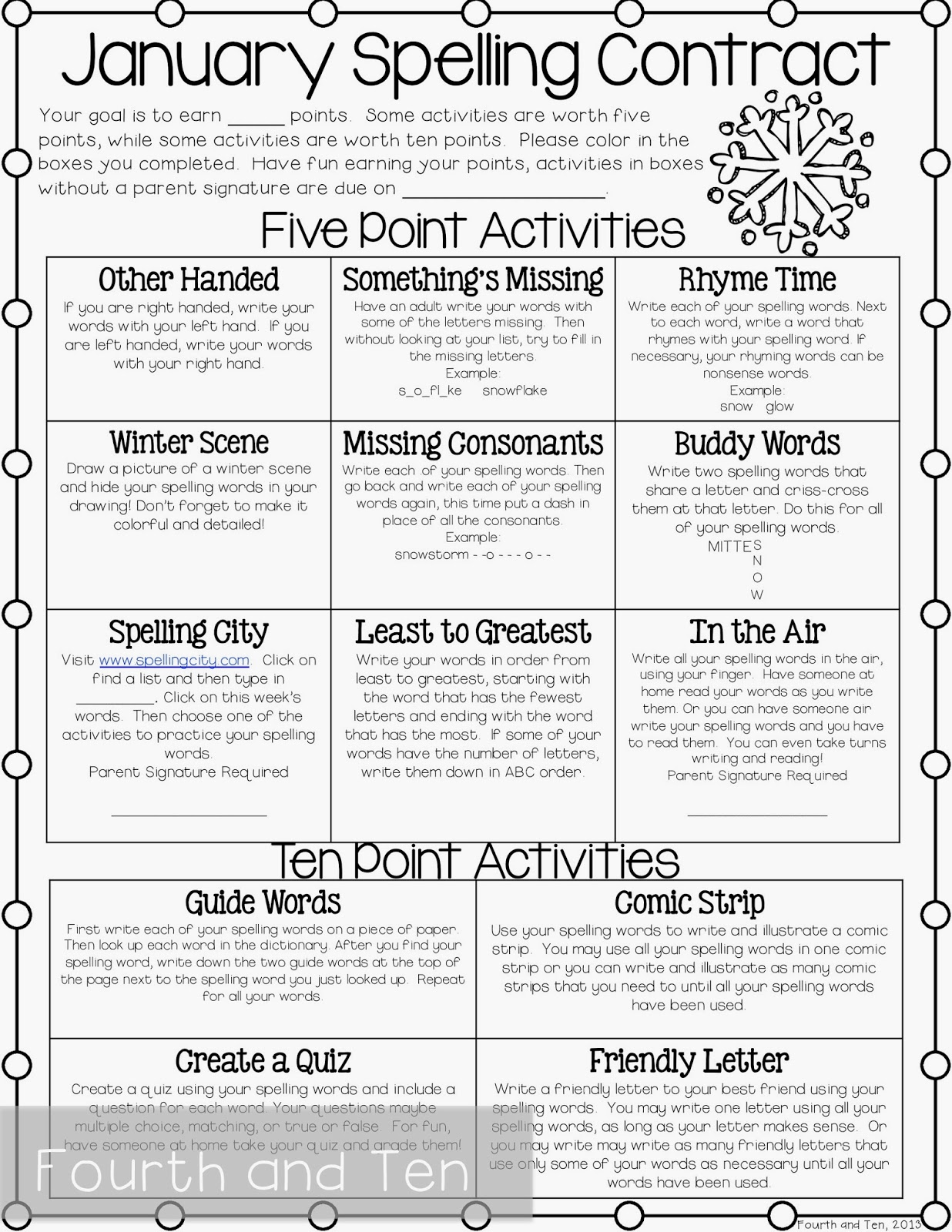 Homework helpers for 4th grade