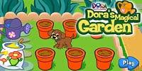 Игра Волшебный огород Доры