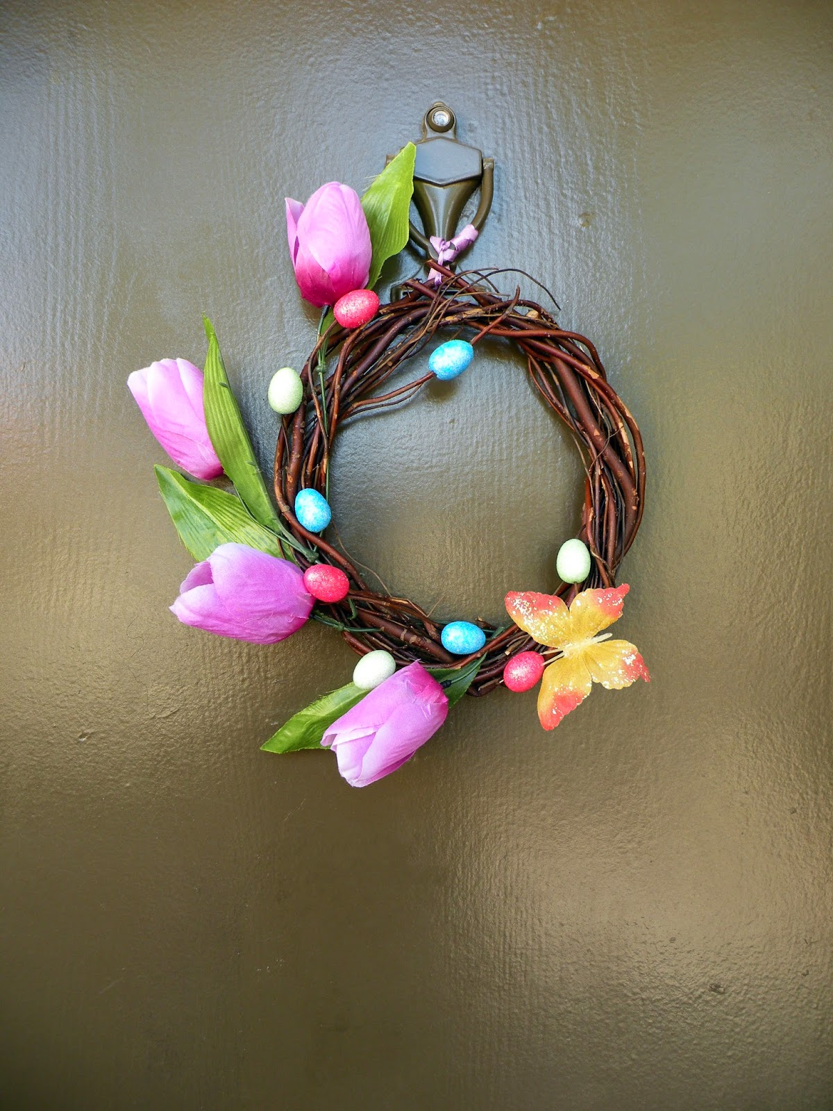 Spring Time or Easter Wreath
