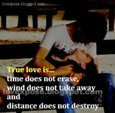 true love message image