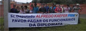 Apoio aos funcionários da Diplomata - Capanema