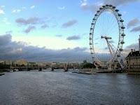 el río Támesis en Londres