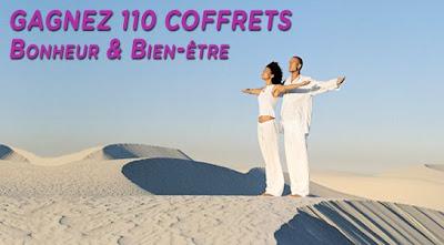 """110 coffrets """"Bonheur et Bien-être"""""""