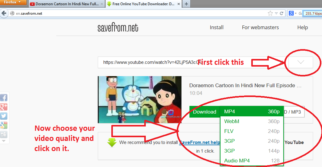 How to download youtube videos imrezratins blog now enjoy your video ccuart Choice Image