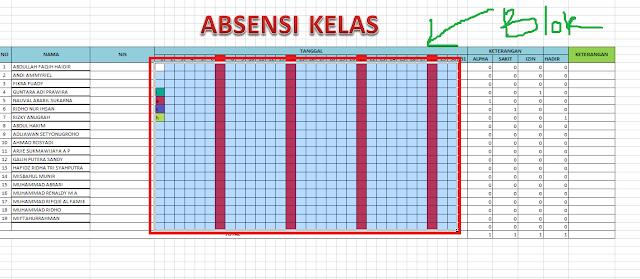 Cara Membuat Absensi Otomatis dengan Excel 2007