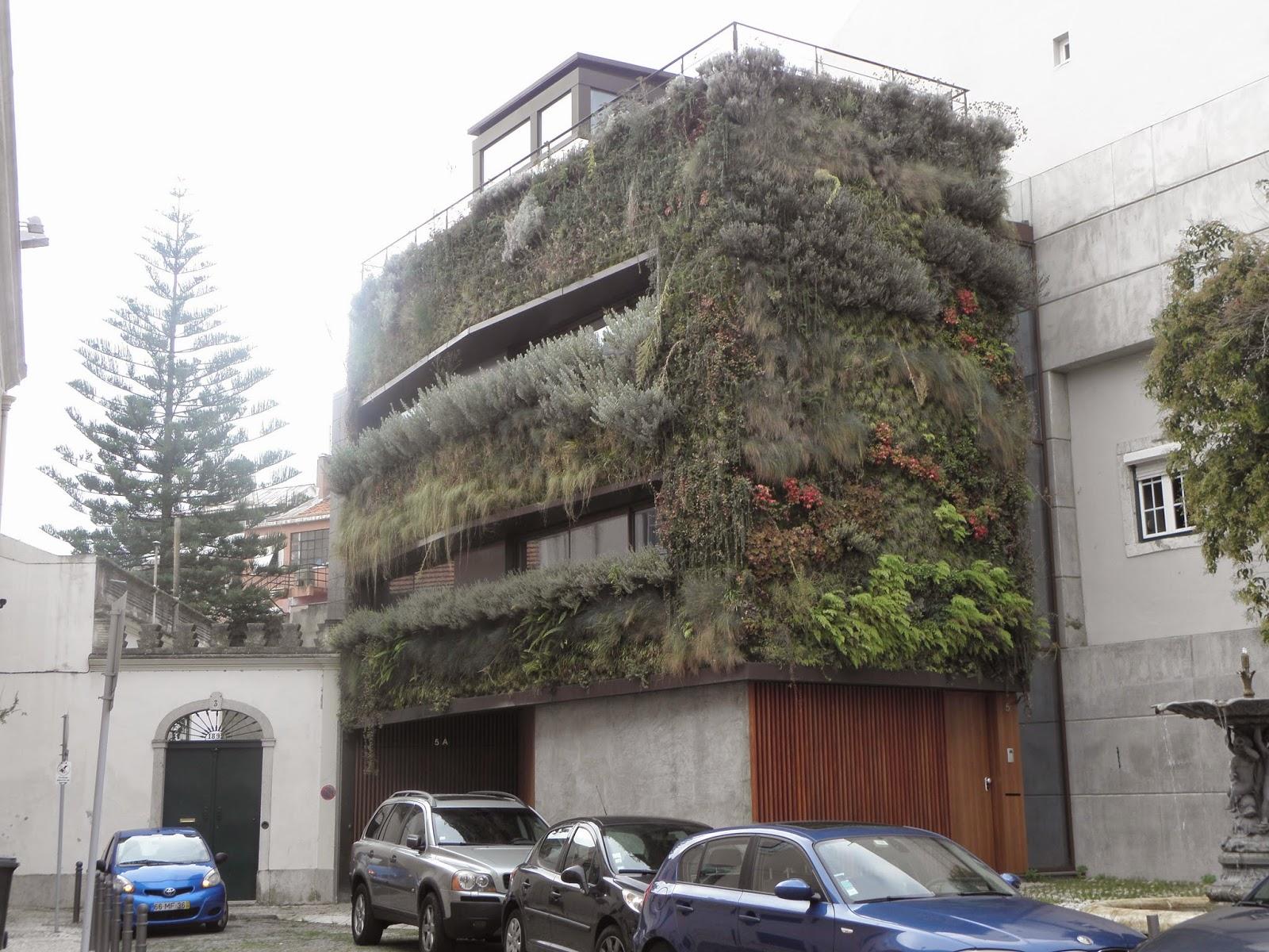 Háem Lisboa um jardim suspenso e vertical é um jardim que sobe ou