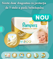 Pampers Premium Care - Testeaza gratuit