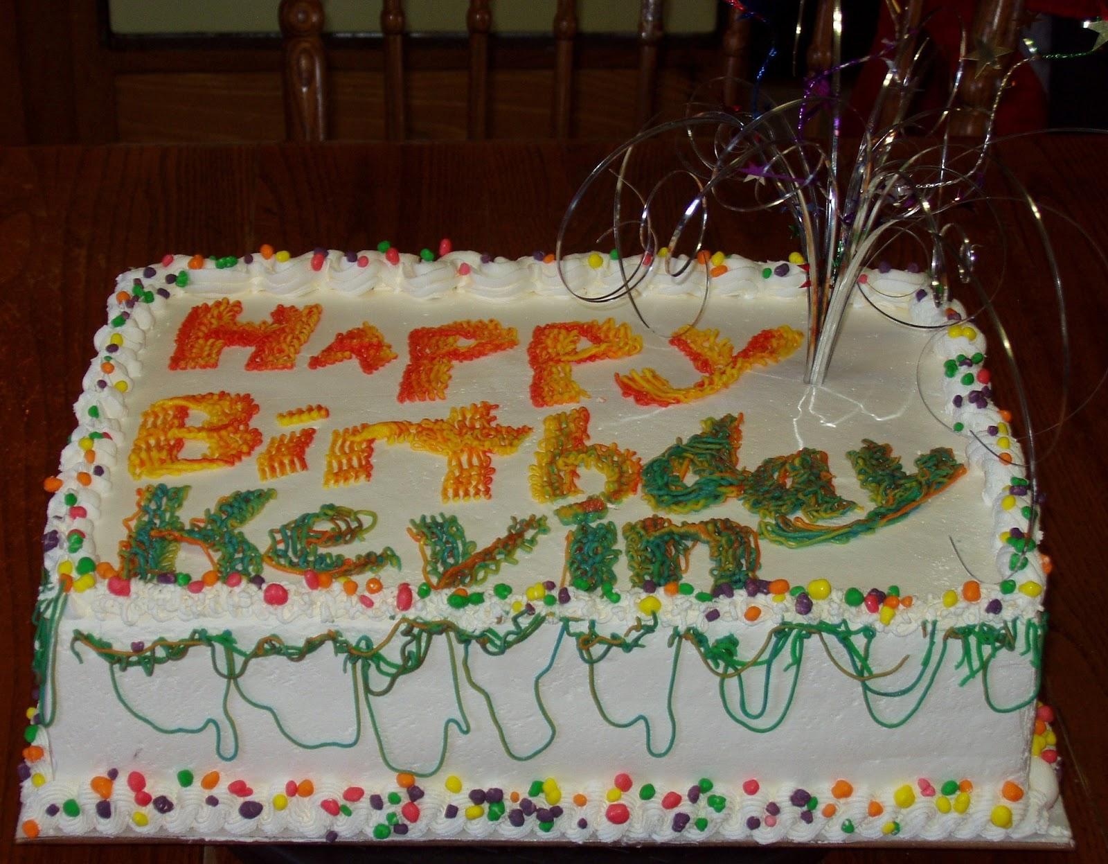 Michelles Cakes Birthday Cake