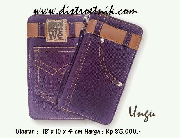 dompet jeans it just we classic series ungu