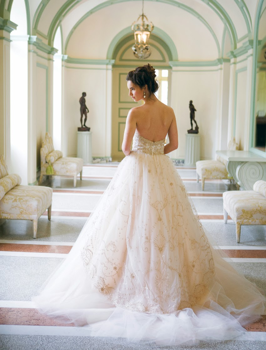 Romantic wedding gowns magazine wedding for Wedding dresses for weddings