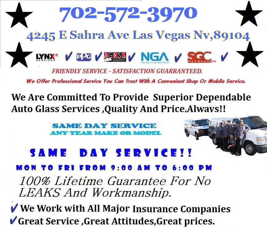 Local Las Vegas Windshield installations