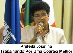 Prefeita de Coaraci Josefina
