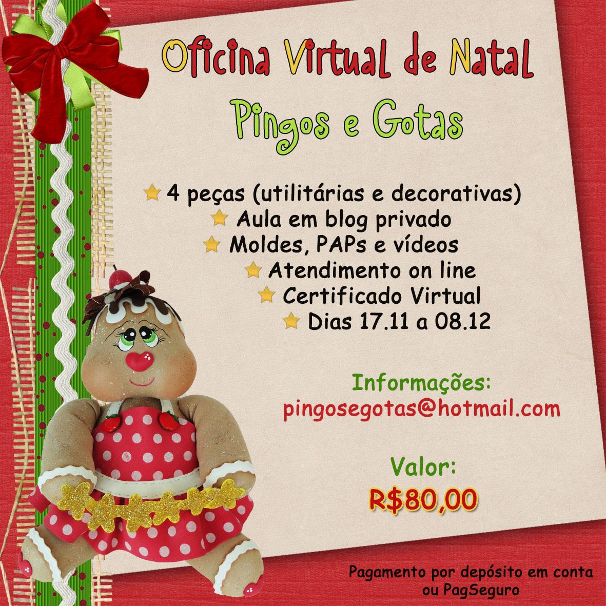 Pingos e gotas oficina virtual de natal pingos e gotas for Oficina virtual economica