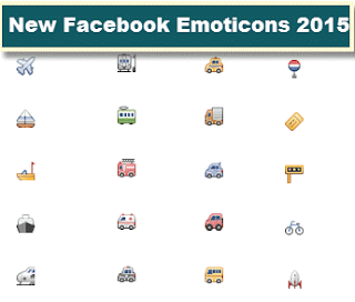 New Complete Symbols for Facebook (Emoji) 2015