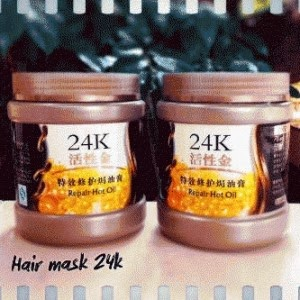 24K ACTIVE GOLD HAIR MASK 500ml, masker rambut 24k
