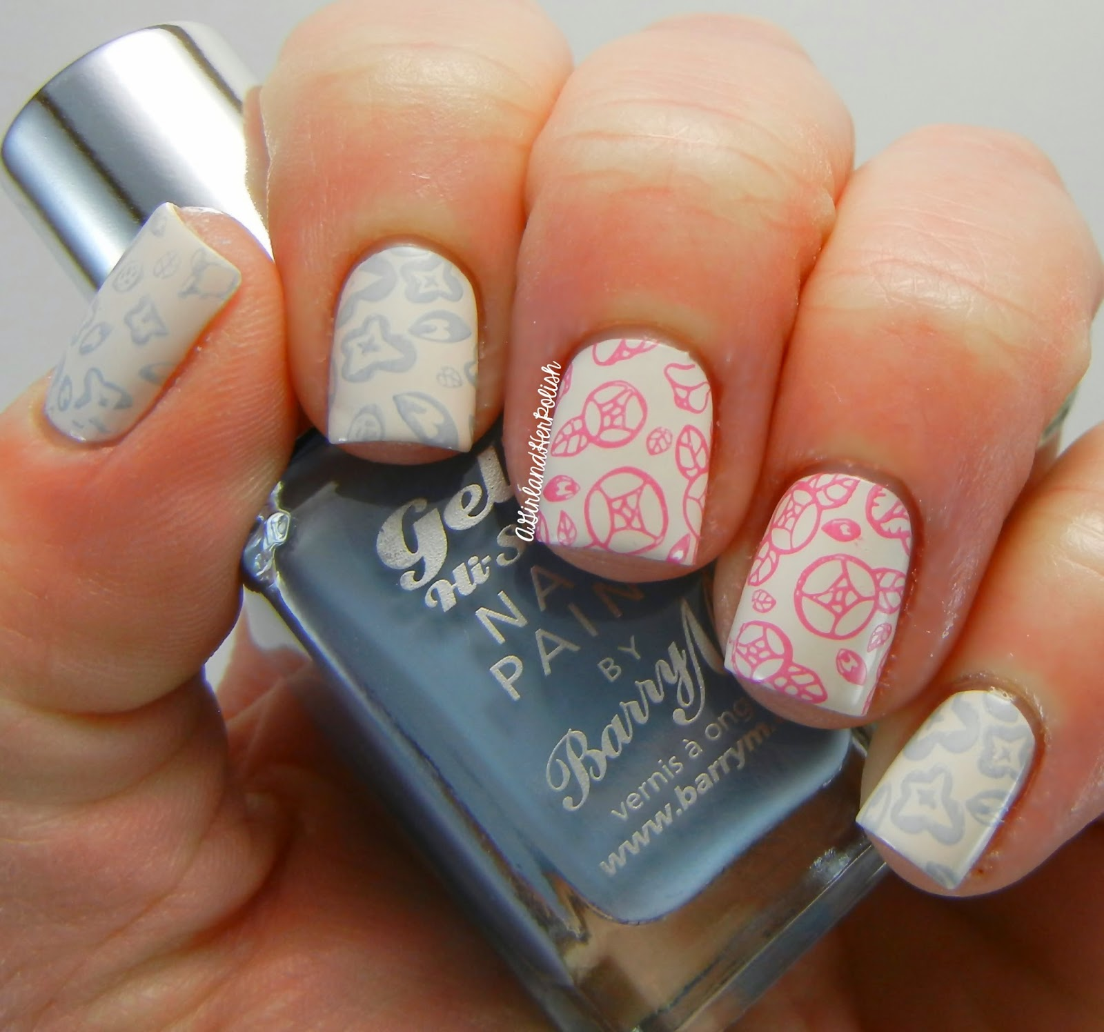 A Girl and Her Polish: Bundle Monster Secret Garden Plate 724 Review