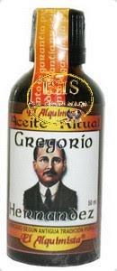 ACEITE RITUAL GREGORIO HERNÁNDEZ