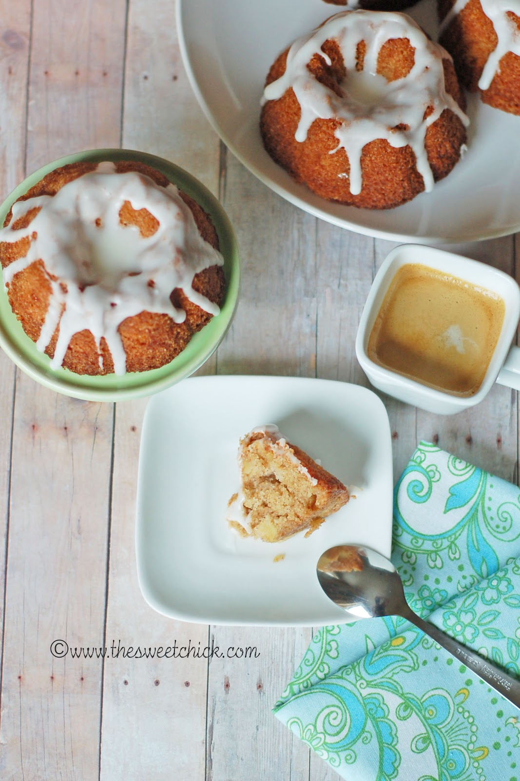 The Sweet Chick: Mom's Apple Cake