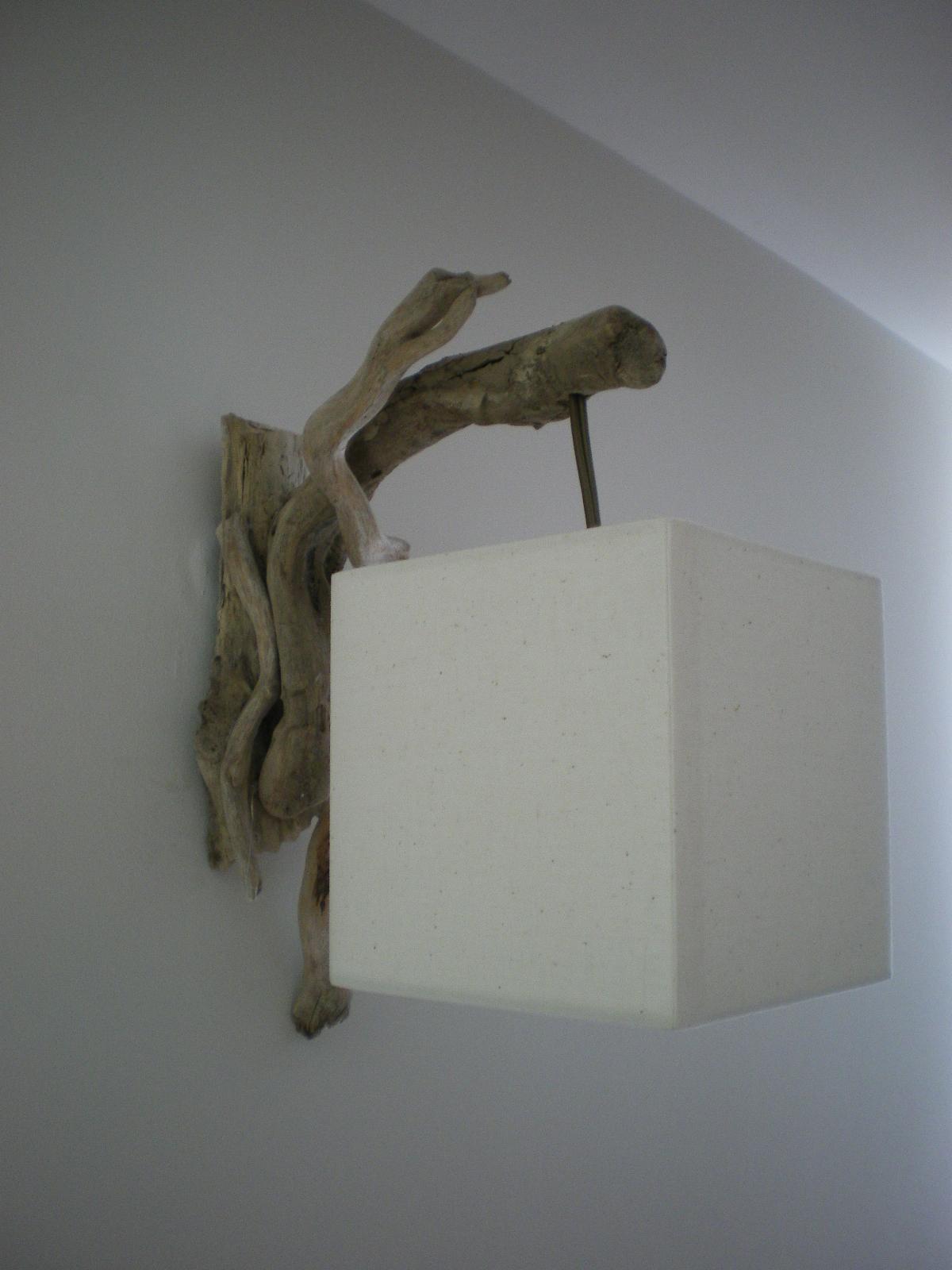 Emy cr a d co applique en bois flott for Appliques en bois flotte