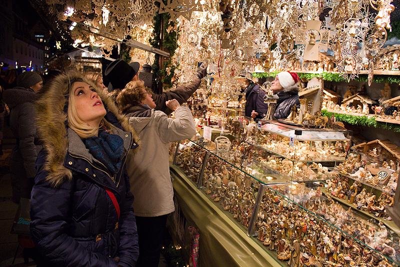 Nemaćka - božićni vašar u Minhenu