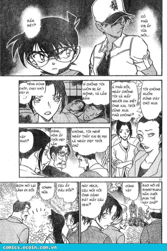 Detective Conan - Thám Tử Lừng Danh Conan chap 617 page 11 - IZTruyenTranh.com