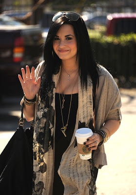 Demi Lovato Hairstyle and Haircutclass=