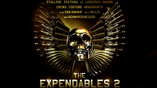 Expendables 2 Movie Skull Poster HD Wallpaper