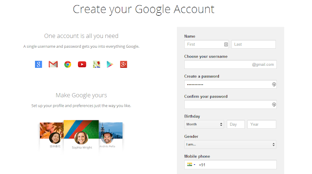 How to Create Gmail Account - Gmail Sign Up