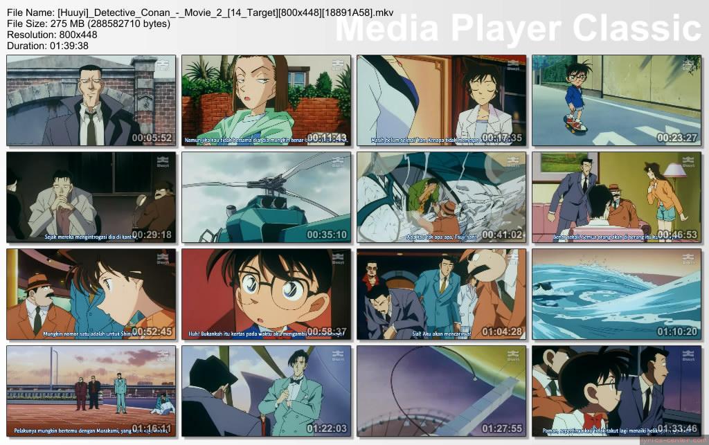 74f6c48bc5f0a4d9a9f28b5371151163 Detective Conan Movie 2 ( 14 Target ) [ Subtitle Indonesia ]