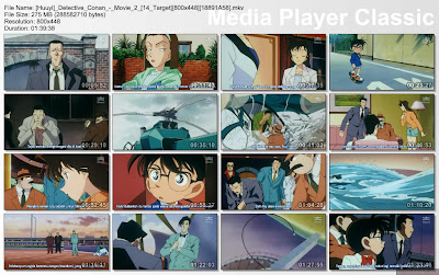 74f6c48bc5f0a4d9a9f28b5371151163 Detective Conan Movie 2 ( 14 Target ) [ Subtitle Indonesia ]