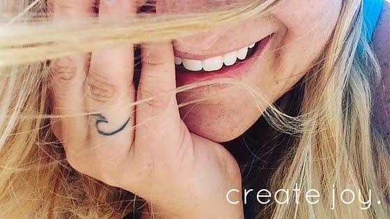 create joy.