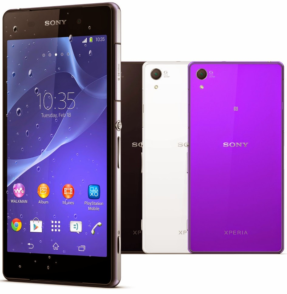 Sony Xperia Z2 - Full Phone Specifications