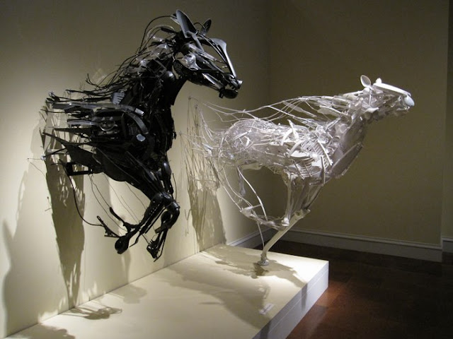 Recycled Sculptures Seen On www.coolpicturegallery.us
