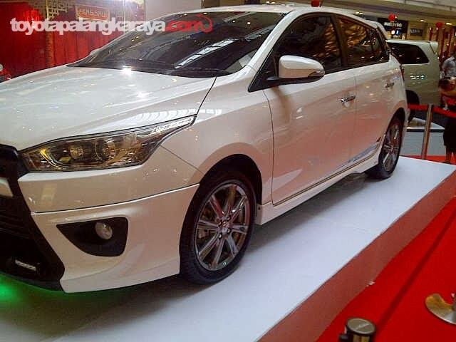 GAMBAR EXTERIOR ALL NEW YARIS 2014