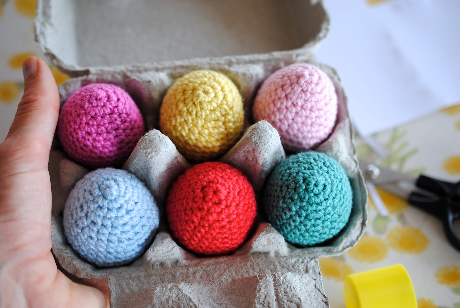 Greedy For Colour: More Crochet Easter Eggs.