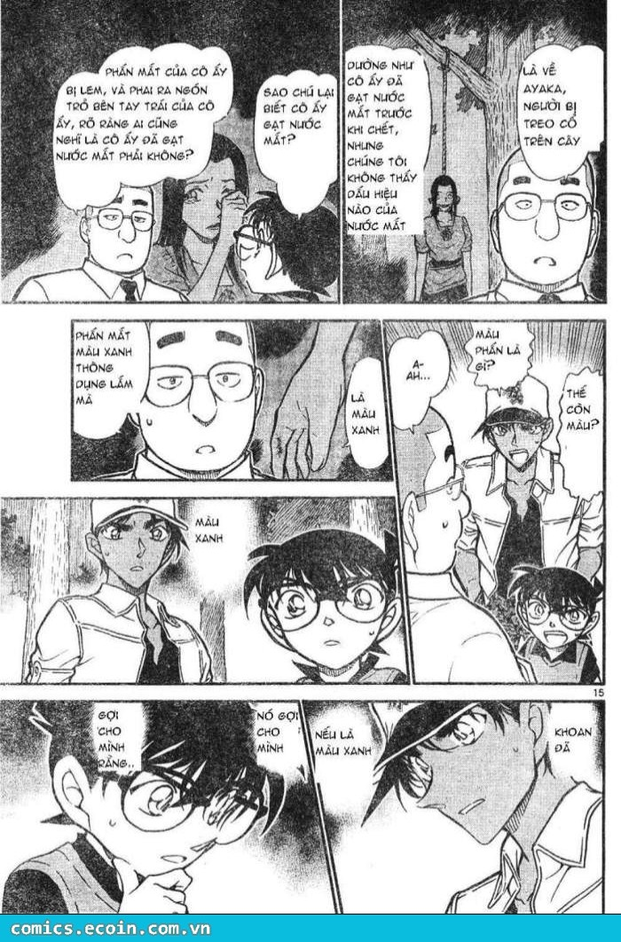 Detective Conan - Thám Tử Lừng Danh Conan chap 617 page 15 - IZTruyenTranh.com