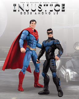 """DC Collectibles Injustice: Gods Among Us 3.75"""" Superman and Nightwing Figure 2-Pack"""