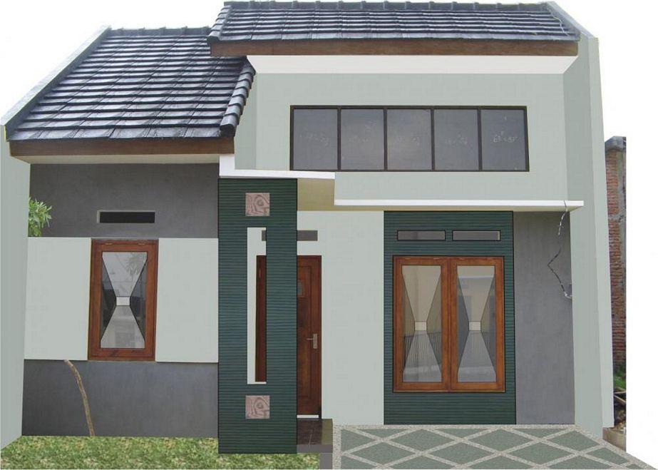 bentuk rumah type 21 sederhana yang menarik