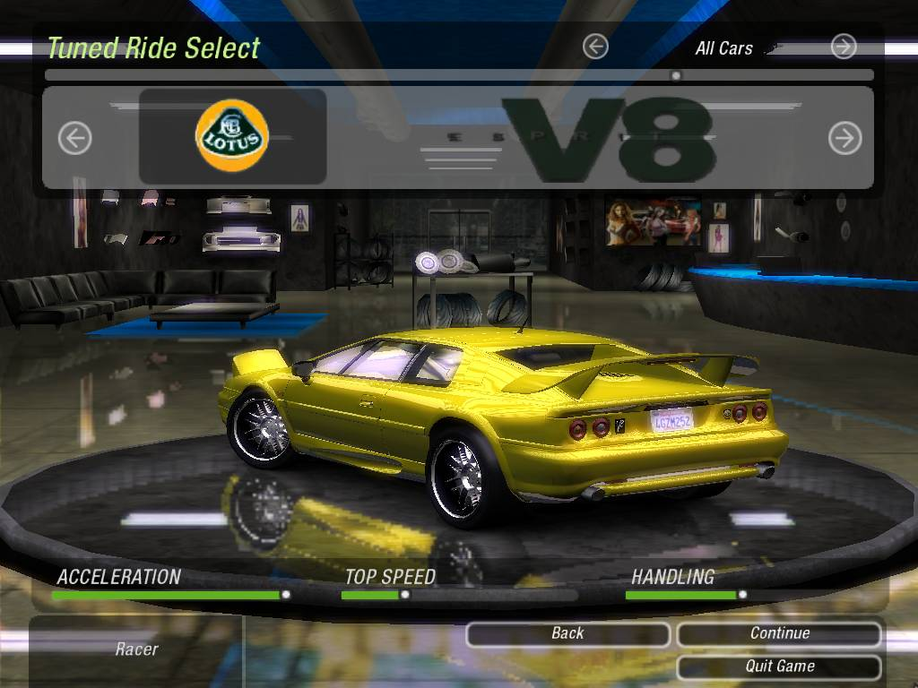 Real Racing  Most Important Cars
