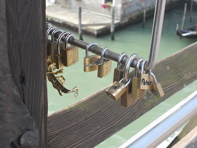 love locks italy