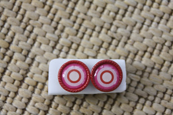 red liner circle within circle valentines