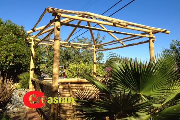 Quality Bamboo and Asian Thatch 1214Complete tiki bar kits