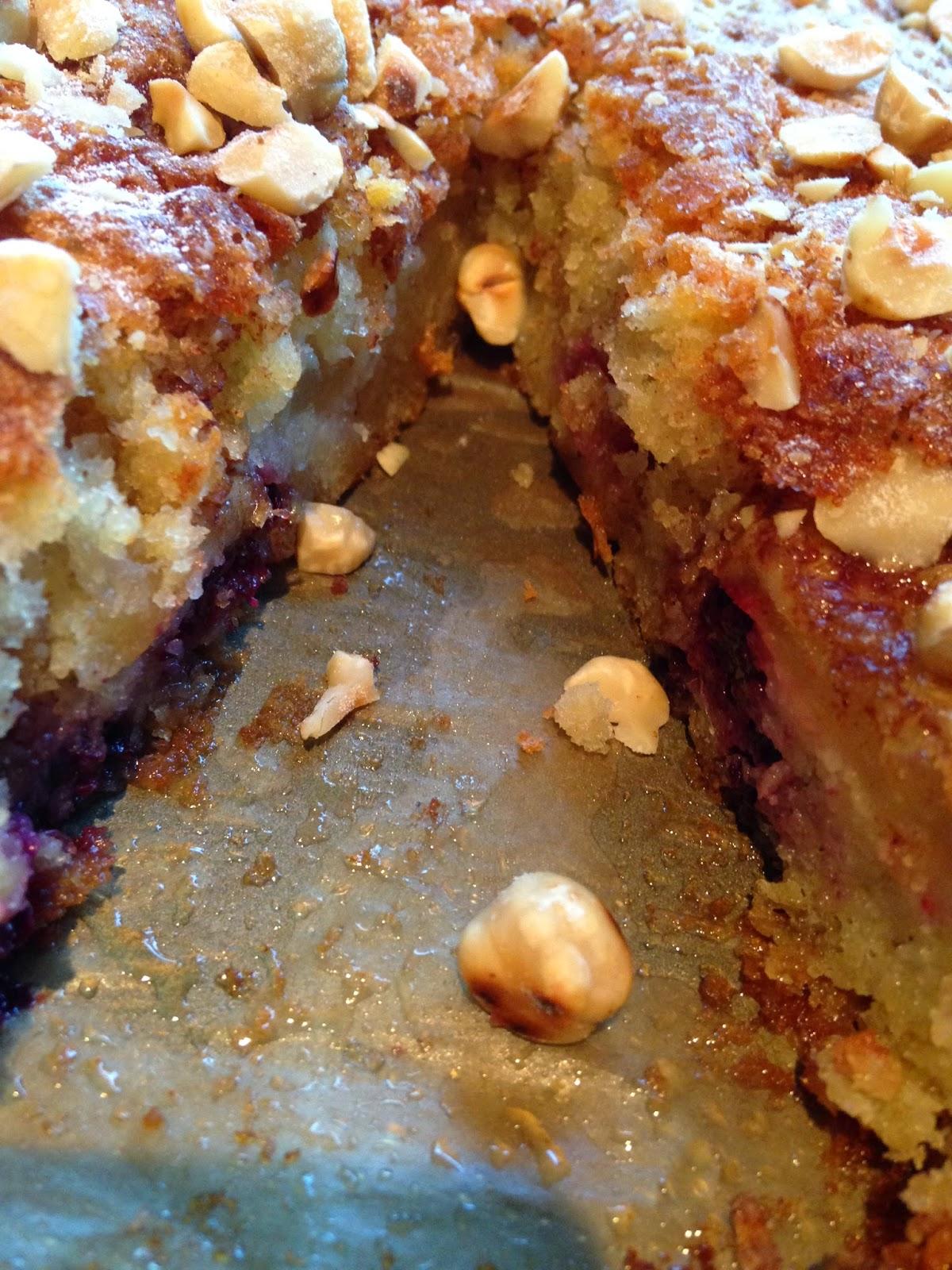 Blackberry & Apple Cake
