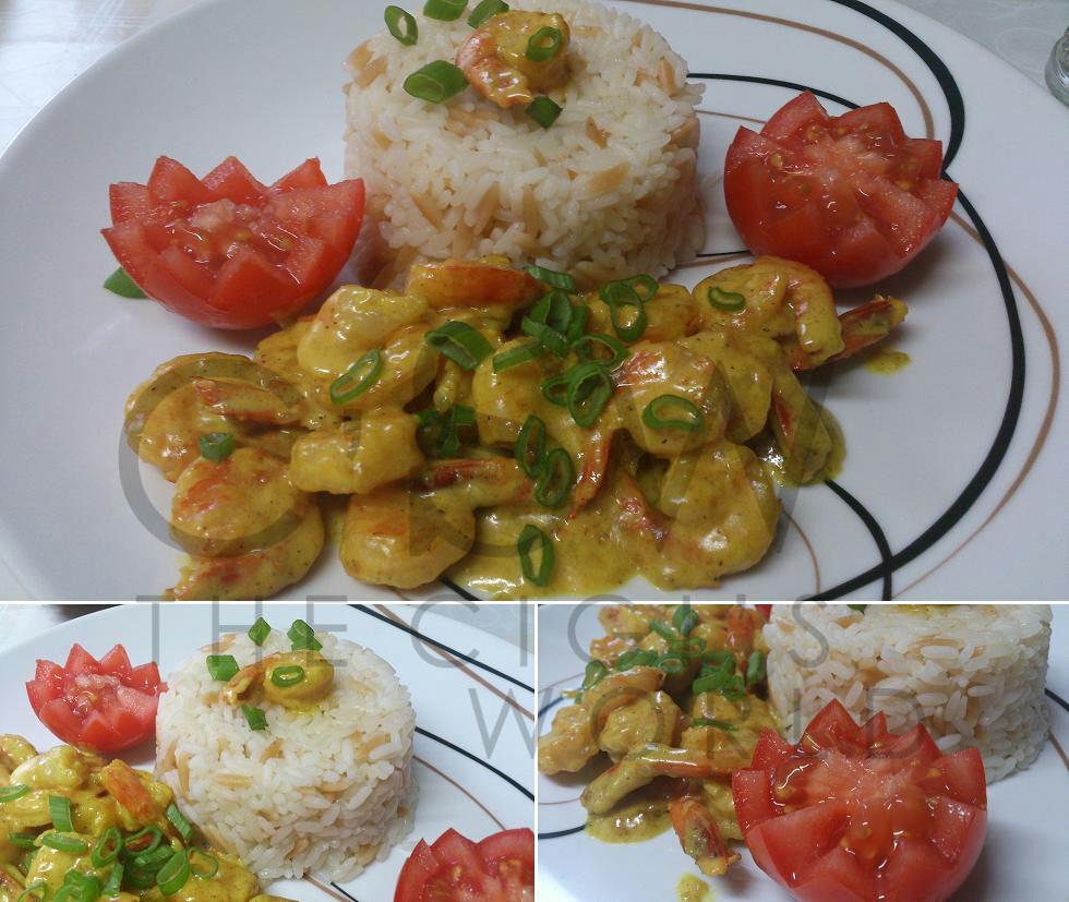 cigi 39 s world riz crevettes au curry fort. Black Bedroom Furniture Sets. Home Design Ideas