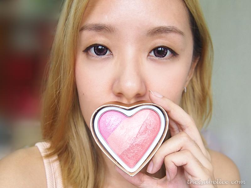Makeup Revolution I Heart Makeup blusher